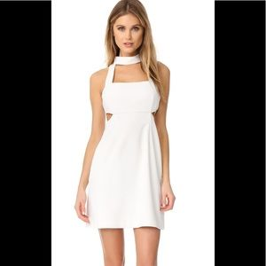 Jill Jill Stuart Halter Cutout Mini Dress